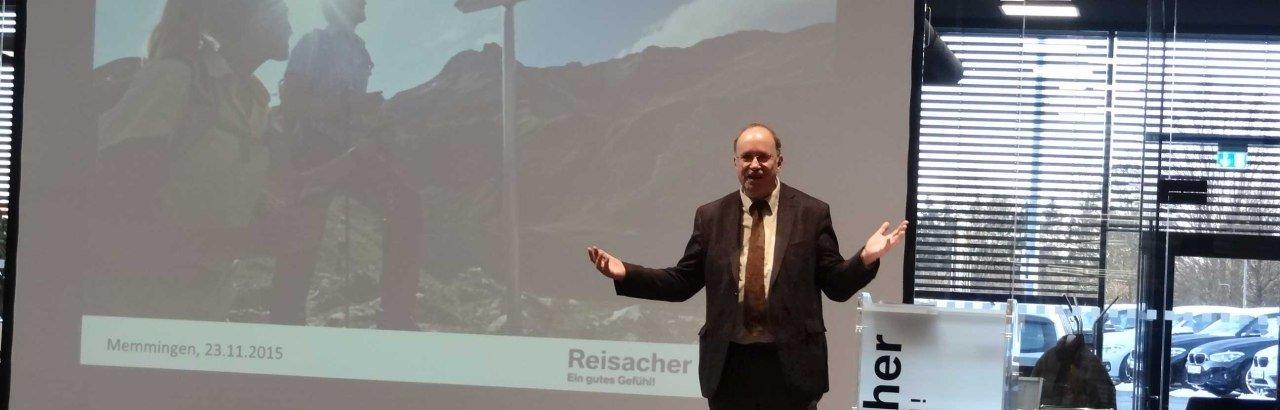 2. Tourismusgipfel im Autohaus Reisacher in Memmingen