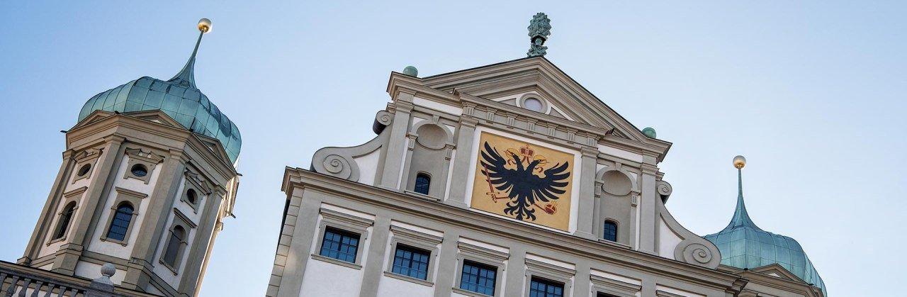 Das Rathaus - eines der Wahrzeichen der Schwaben-Metropole Augsburg © Trykowski